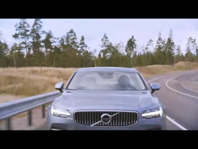 画像: 172601 The new Volvo S90 design www.youtube.com