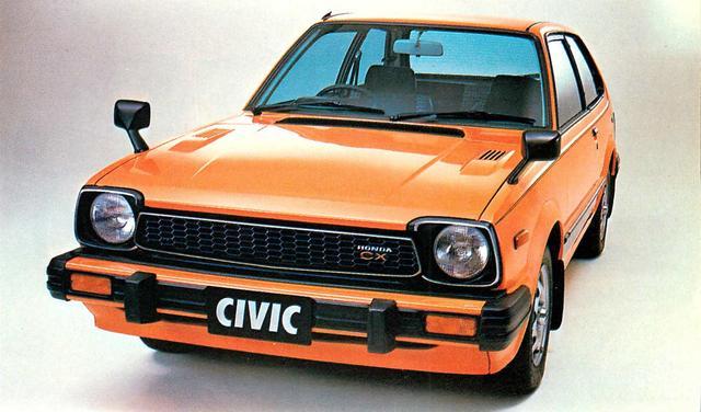 画像: シビック3ドア1500CX(1980年)