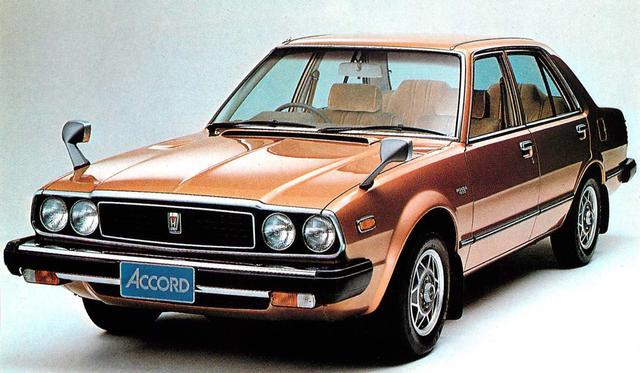 画像: アコードサルーンEX-L(1980年)