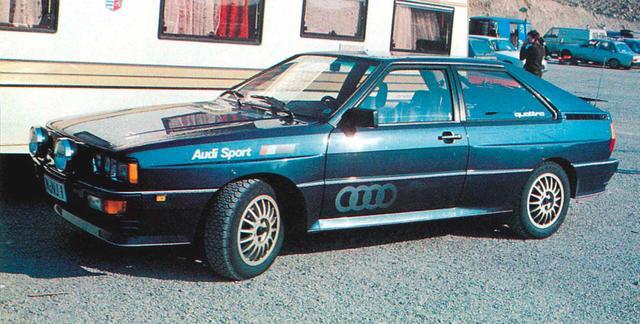 画像1: 【世界の自動車年鑑】 第323回「アウディ クワトロ」(1981年モデル)