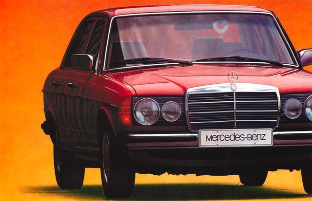 画像: メルセデス ベンツ 200D/240D/240TD/300D/300Long/300TD/300TD-Turbodiesel