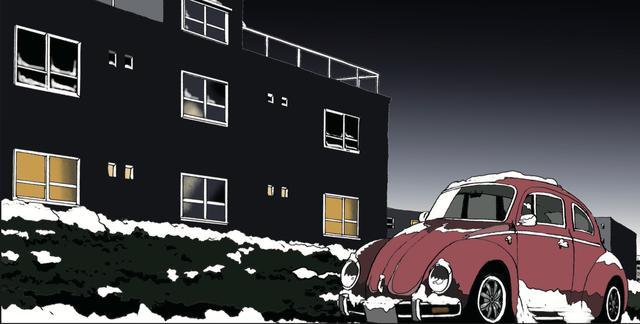 画像: 雪の日も