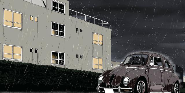 画像: 雨の夜も
