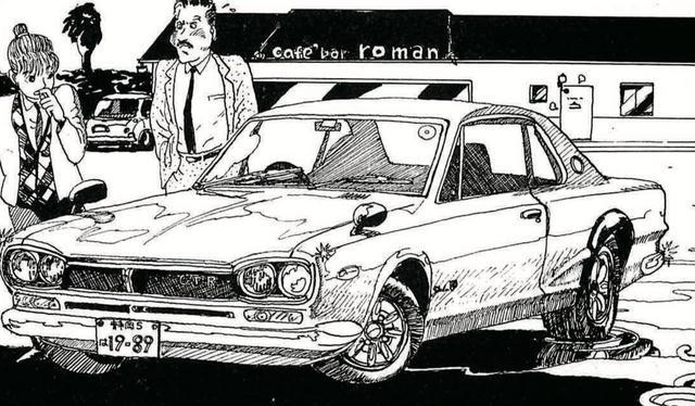 画像1: 【カネがあったらエアコンなしで】男の中の男しか乗りこなせそうな超・硬派な車。それはハコスカ。