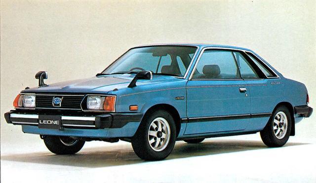 画像: レオーネスイングバック1600SRX(1980年)