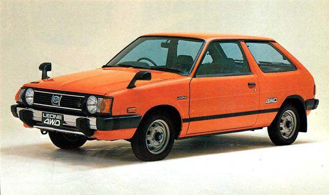 画像: レオーネスイングバック18004WD(1980年)