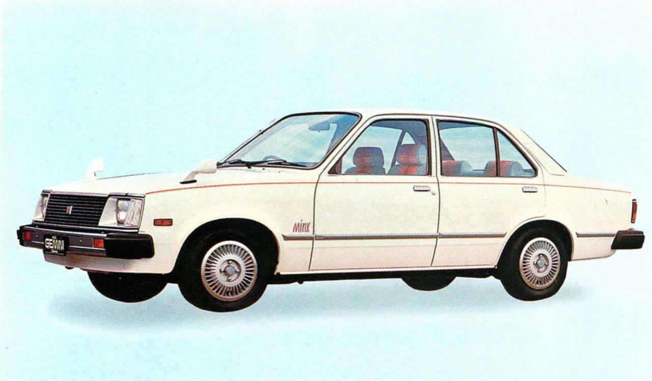 画像: ジェミニ4ドア1600MINX(1980年)