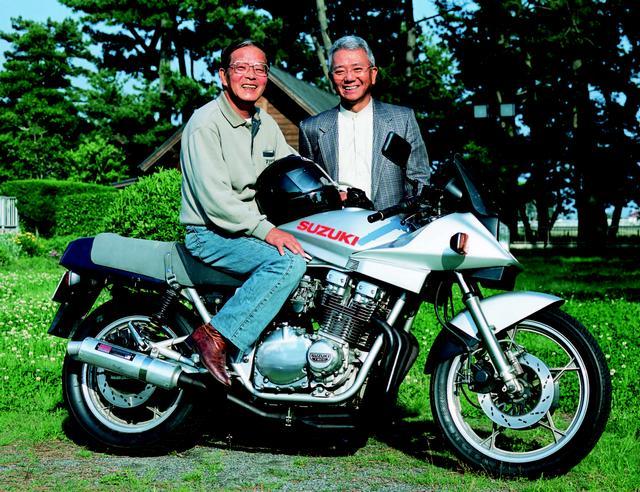 画像: (左)横内悦夫さん(右)谷雅雄さん/©モーターマガジン社