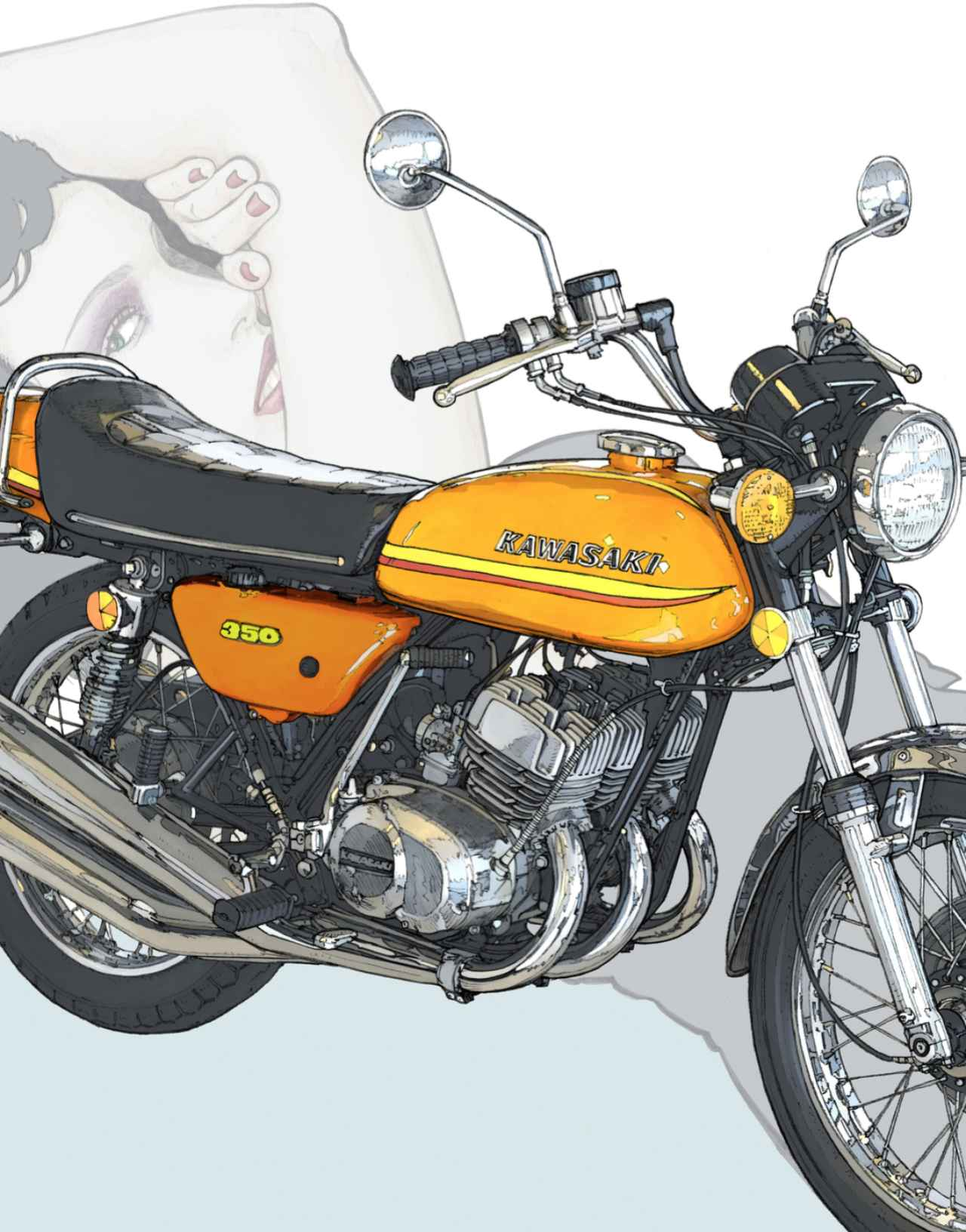 How To Ride A Kawasaki X