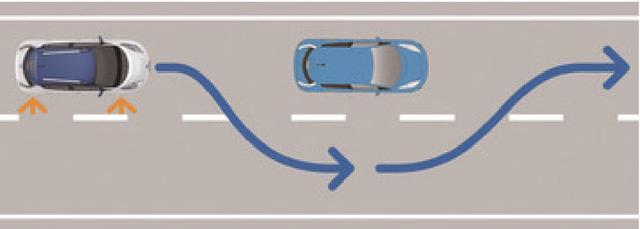 画像: ■低速車両の自動追い越し (ホリデーオート@モーターマガジン社) www.motormagazine.co.jp