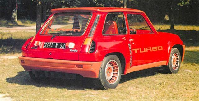 画像2: 【世界の自動車年鑑】 第346回「ルノー5 ターボ」(1981年)