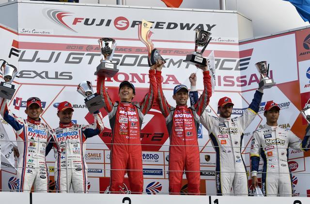 画像14: 【 GT-R の敵は GT-R 】 スーパーGT選手権  GT-R連勝中!