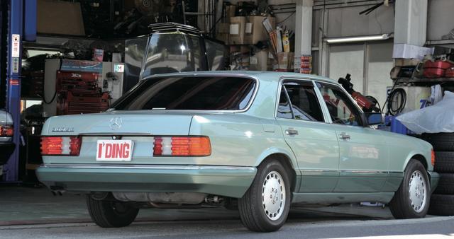画像2: メルセデス・ベンツ300SE(1988年) www.motormagazine.co.jp