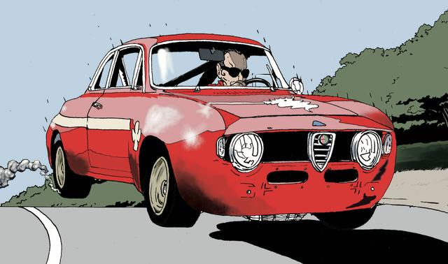 画像: トーマスの【カネがあったら正装して乗る】アルファロメオ GTA ジュニア 1300 - LAWRENCE - Motorcycle x Cars + α = Your Life.
