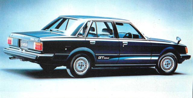 画像3: 【日本の自動車年鑑】 第163回 トヨタ「チェイサー」(1981年)