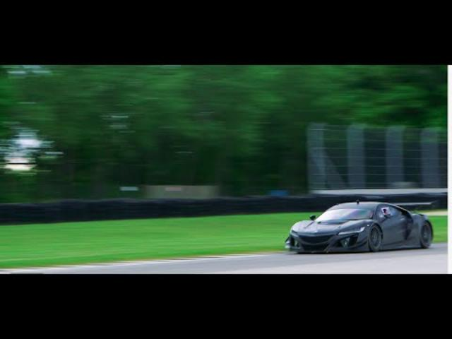 画像: Acura — GT3 NSX Racer Testing Debut youtu.be