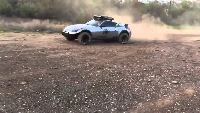 画像: Nissan 350Z offroad youtu.be