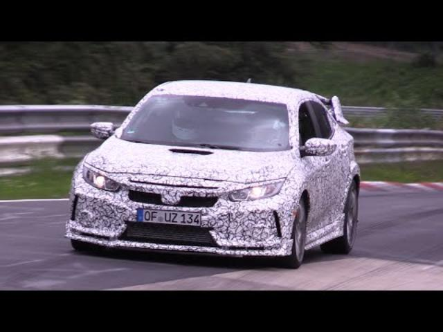 画像: 2018 Honda Civic Type R Testing on the Nurburgring youtu.be