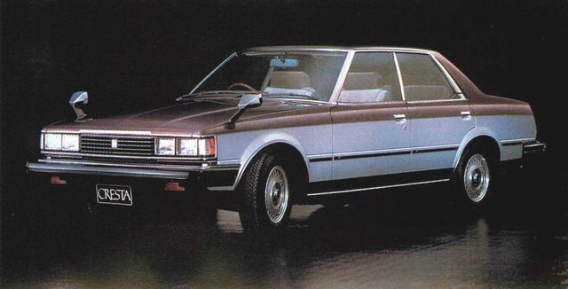 画像2: 【日本の自動車年鑑】 165回 トヨタ「クレスタ」(1981年)