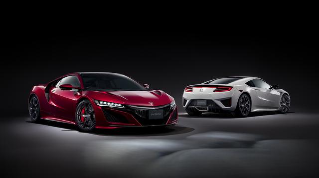 画像: 市販型の発表から1年半以上の時を経て、ようやく日本での販売のメドが立った新型NSX。