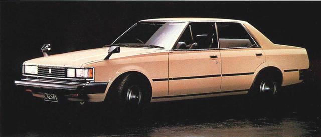 画像3: 【日本の自動車年鑑】 165回 トヨタ「クレスタ」(1981年)
