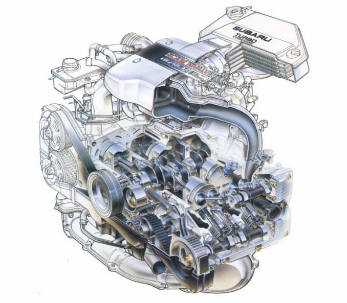 画像: 【名車×エンジンクイズ!昭和編 vol.43】SUBARU BC5に搭載されたエンジンの名前は?