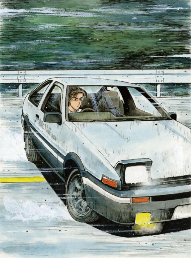 画像: クルマ好きのマスターピース【頭文字D】徹底解説! ~ハチロク×拓海=最速伝説~ - LAWRENCE - Motorcycle x Cars + α = Your Life.