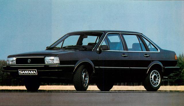 画像: 【世界の自動車年鑑】 第420回「フォルクスワーゲン サンタナ」(1982年モデル)
