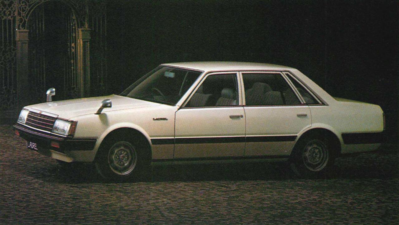 画像: セダン1800GL (1981年) www.motormagazine.co.jp