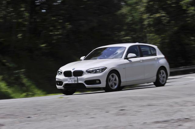 画像: BMW118dはこのセグメントにおいて、唯一のFRでディーゼルエンジン搭載車ということになる。