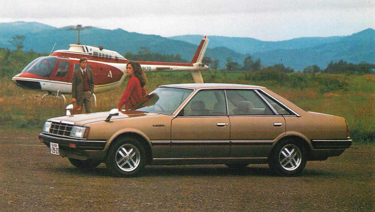 画像: 4ドアHT2000メダリスト(1981年) www.motormagazine.co.jp