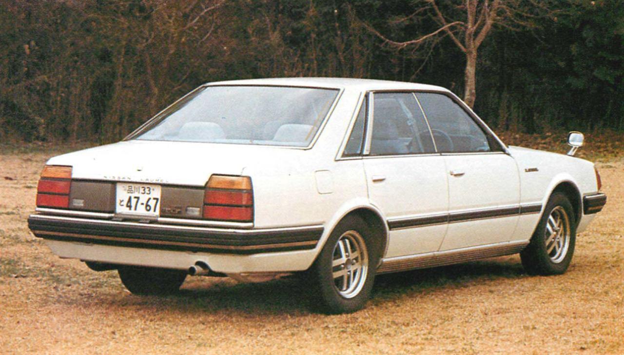 画像1: 【日本の自動車年鑑】 第177回 日産「ローレル」(1981年)