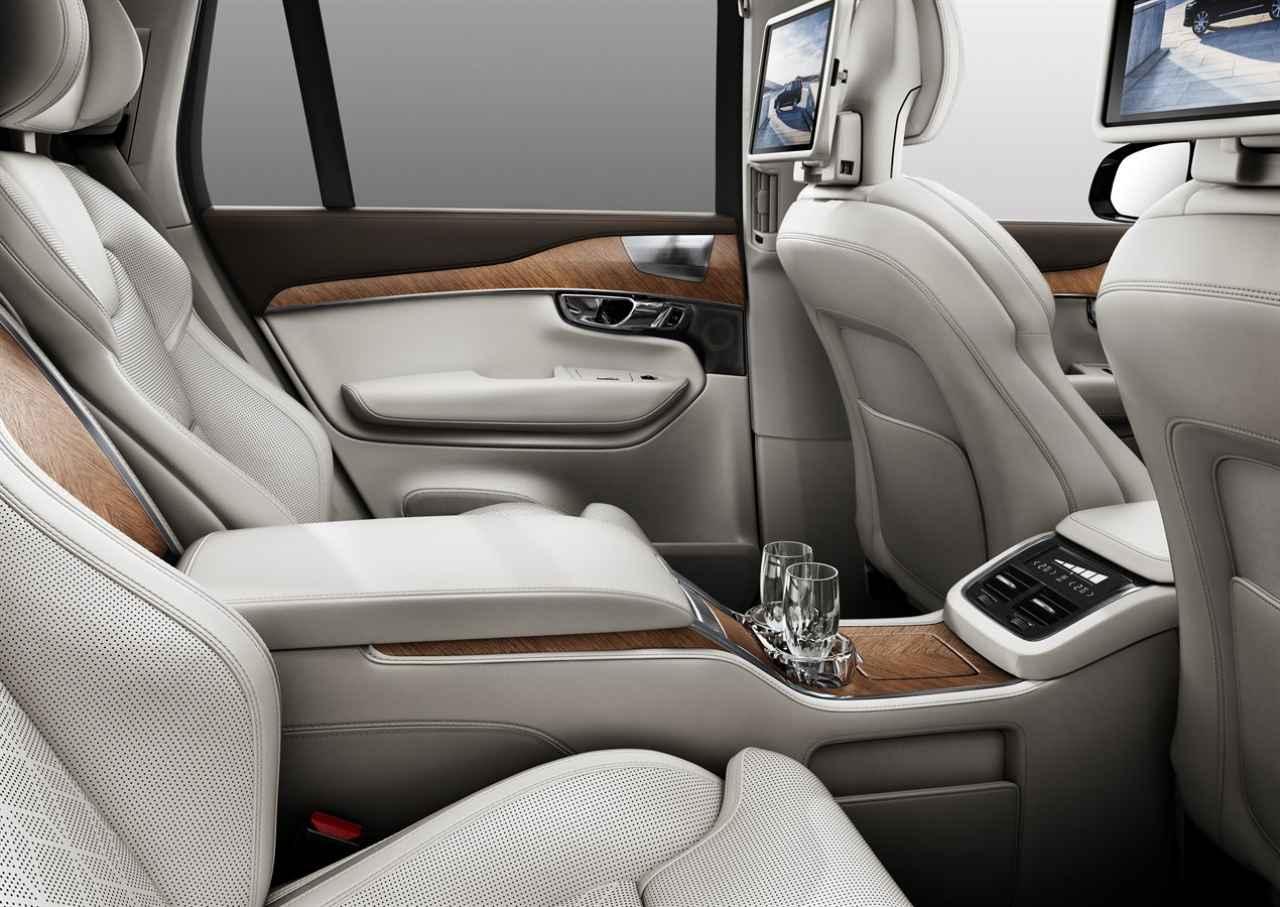 画像: Volvo XC90 Excellence interior