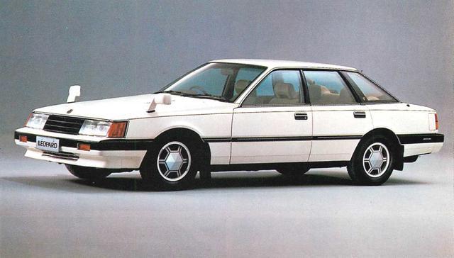 画像3: 【日本の自動車年鑑】 第180回 日産「レパード/TRX」(1981年)