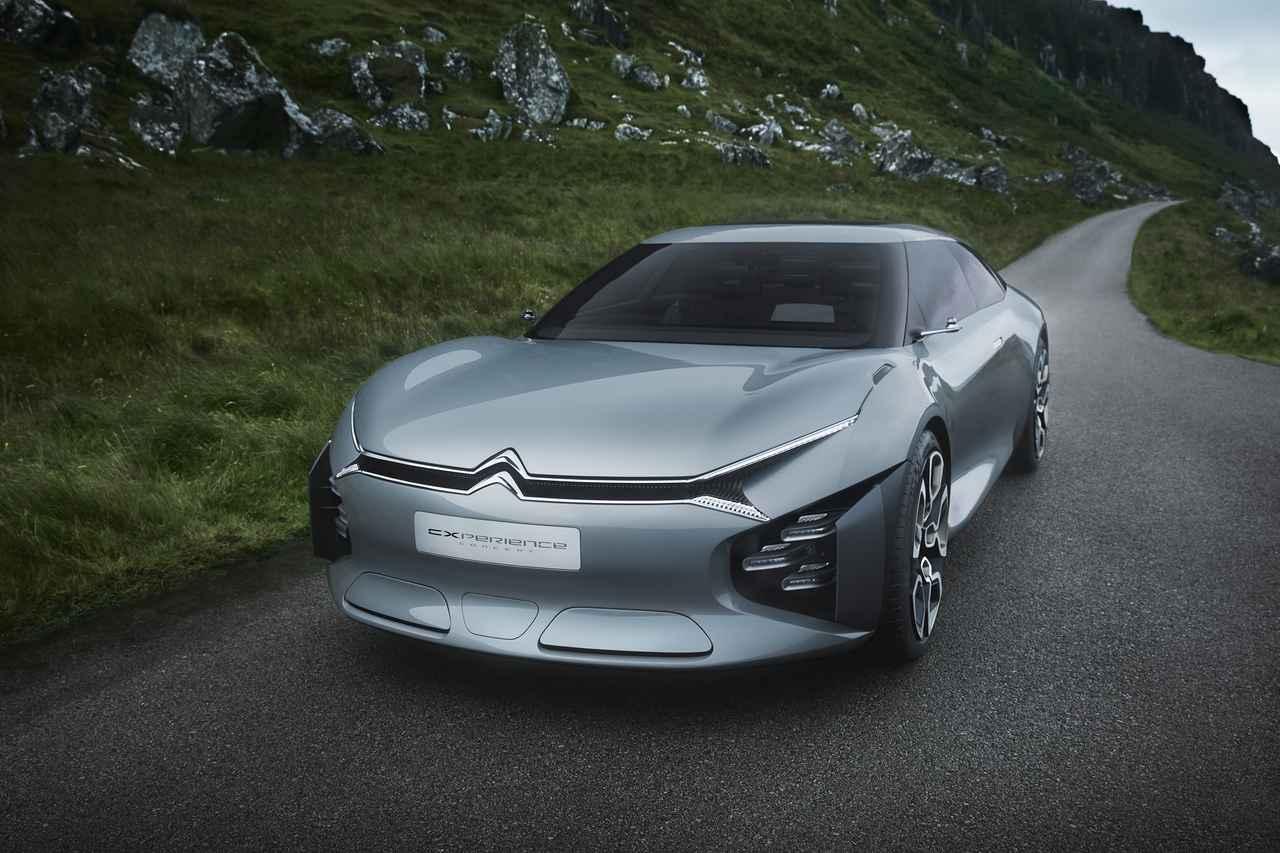 画像: CXPERIENCE コンセプトが採用するパワートレーンは、ガソリンエンジン+電気モーターのプラグインハイブリッドである。