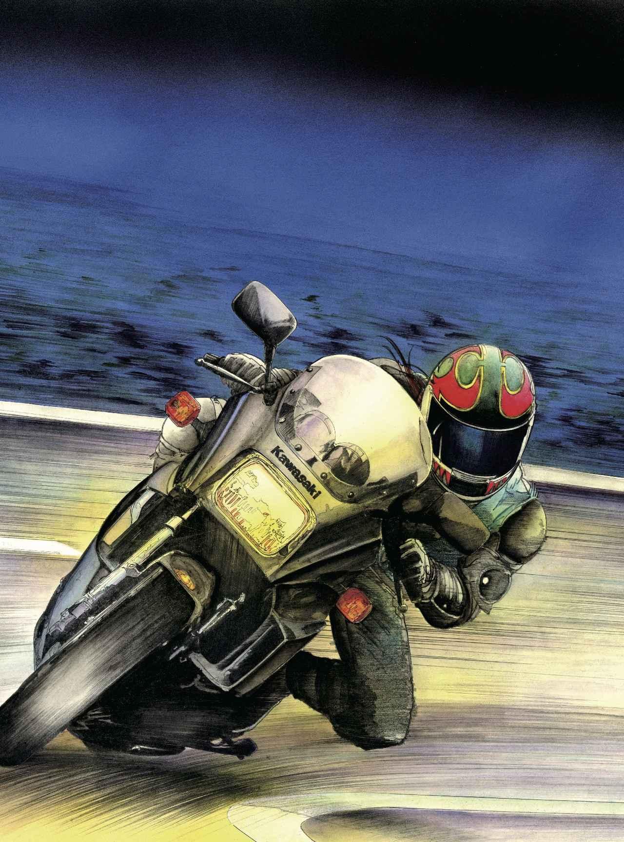 画像: カワサキ ニンジャ GPZ900R (逆輸入フルパワー車) エンジン:908cc 水冷4ストロークDOHC4バルブ並列4気筒 最高出力:115ps/9,500 rpm 最大トルク:8.7kg-m/8,500 rpm