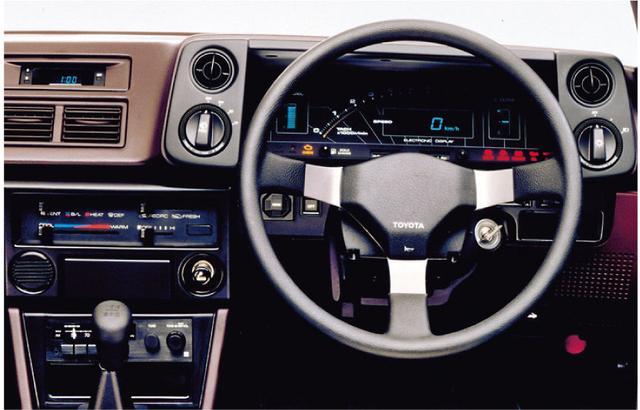 画像1: 【80'sボーイズレーサー×内装クイズvol.7】 TOYOTA AE86のInstrument panelを当ててみよう。