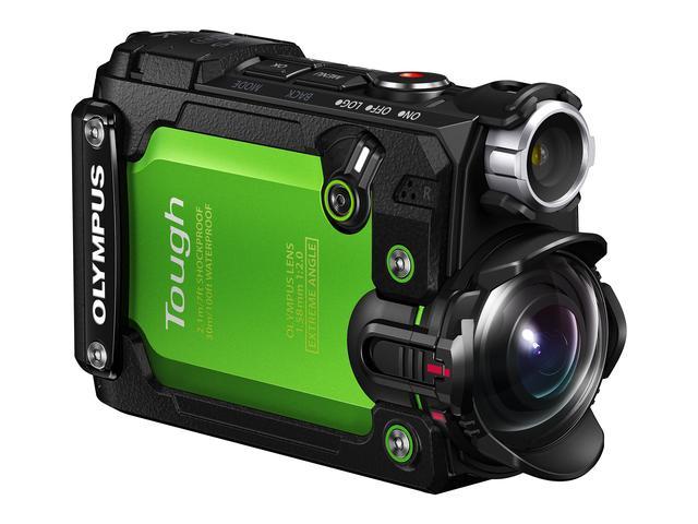 画像: ボディは、大きさ:35.0×56.5×93.2mmで重さ:180g(電池、カード含む)と軽量コンパクト。