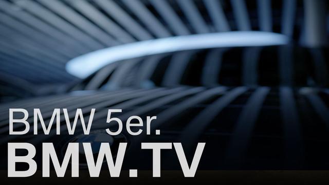 画像: Der neue BMW 5er. www.youtube.com