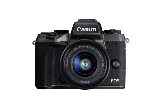 画像: ミラーレス機ながらEVF(電子ビューファインダー)を内蔵し「カメラらしい」フォルムを持つEOS M5
