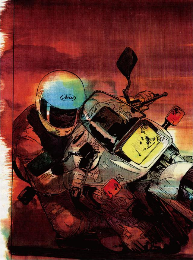 画像: 向こう側にいるか、こっち側にいるのか。 東本昌平先生が贈る、男たちの憧れ『キリン』の世界 ~「キリン」という名~ - LAWRENCE - Motorcycle x Cars + α = Your Life.