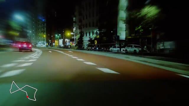 画像: 六本木の街がF1コースに!