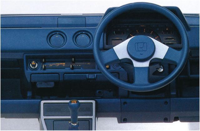 画像2: 【80'sボーイズレーサー×内装クイズvol.23】MITSUBISHI C13AのInstrument panelを当ててみよう。