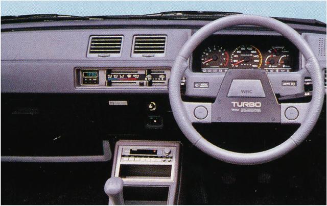 画像1: 【80'sボーイズレーサー×内装クイズvol.23】MITSUBISHI C13AのInstrument panelを当ててみよう。