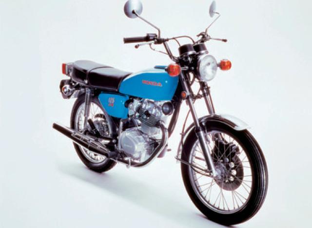 画像: HONDA ベンリイCB125JX(1975年)