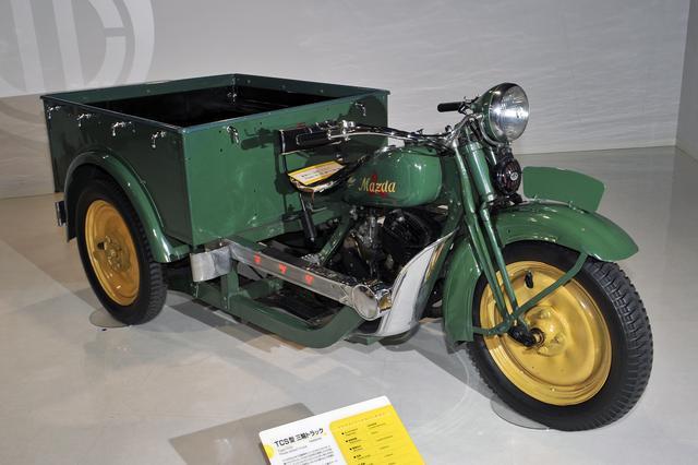 画像: 1935年式 TCS型三輪トラック。マツダは1931年から三輪トラックの製造を開始している。
