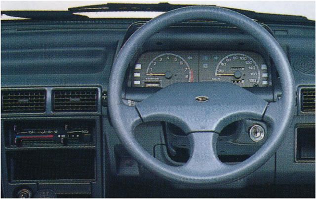 画像1: 【80'sボーイズレーサー×内装クイズvol.26】DAIHATSU G100のInstrument panelを当ててみよう。