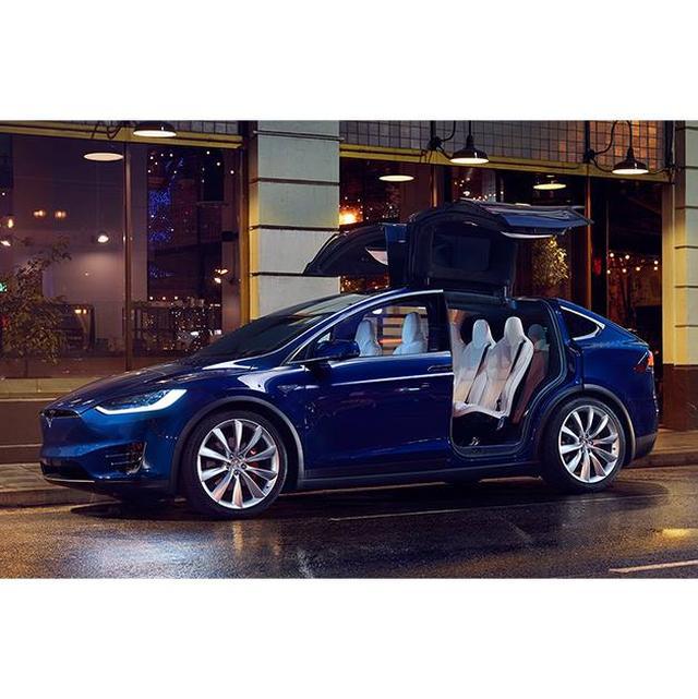 画像2: ガルウイングの電動SUV #suvxo