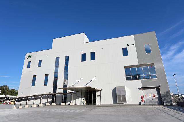画像: センターの建物は、あらゆる災害にも対応できるような構造となっている。