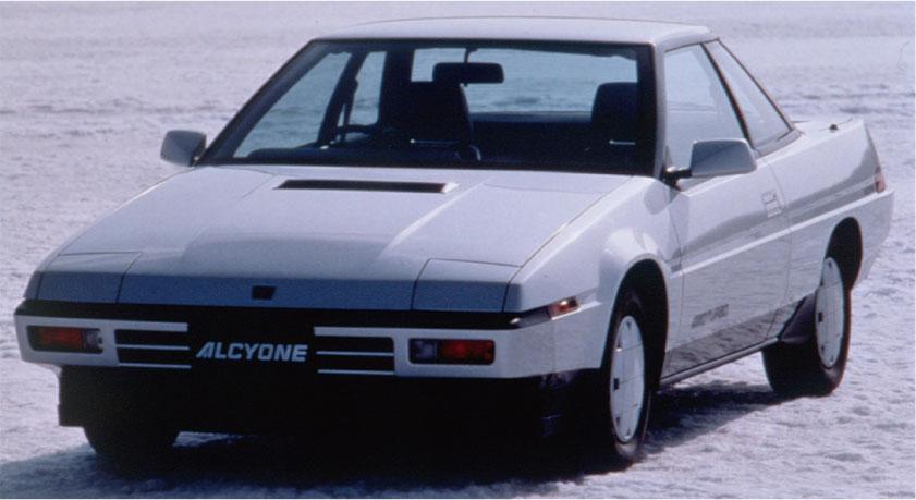 画像: 【MAZDA&SUBARU】語り継がれる名車の系譜:SUBARU アルシオーネ 1985.05~ - LAWRENCE - Motorcycle x Cars + α = Your Life.